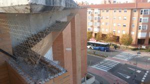 fachada redes y pinchos